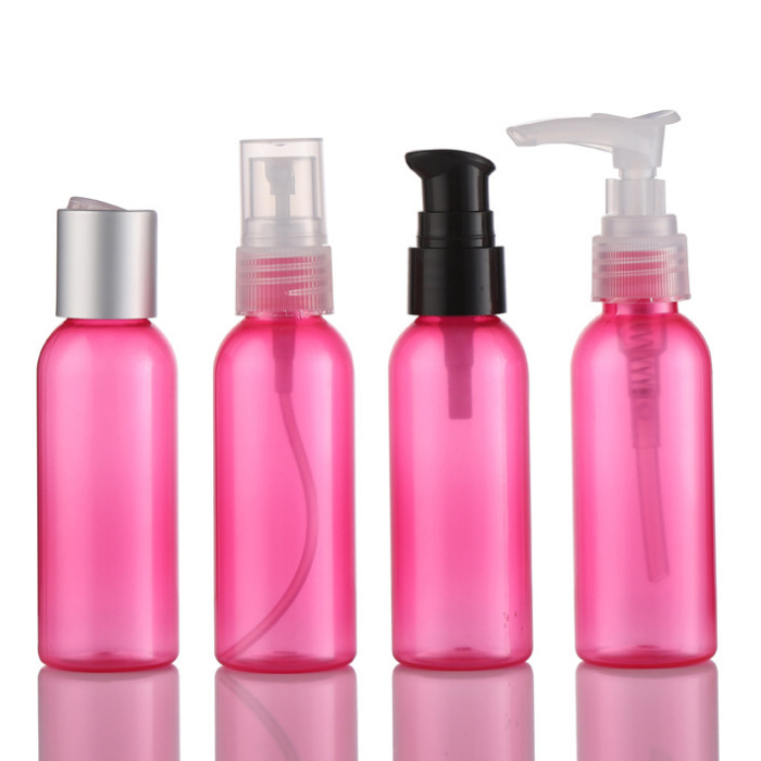 60ml pink natural beauty of PCR-recycling bottles