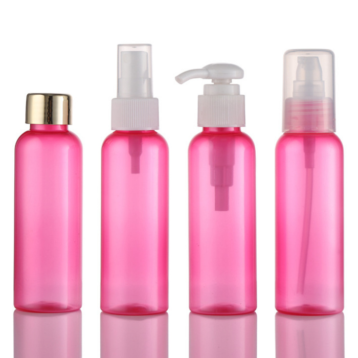 100ml eco friendly PCR cosmetic round bottle